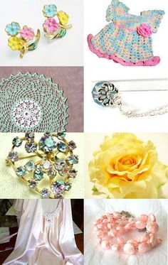 Pastel Beauties by J. C. on Etsy--Pinned with TreasuryPin.com