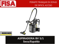 ASPIRADORA 8V 5/1- Permite trabajar en zonas de dificil acesso  -FERRETERIA INDUSTRIAL -FISA S.A.S Carrera 25 # 17 - 64 Teléfono: 201 05 55 www.fisa.com.co/ Twitter:@FISA_Colombia Facebook: Ferreteria Industrial FISA Colombia