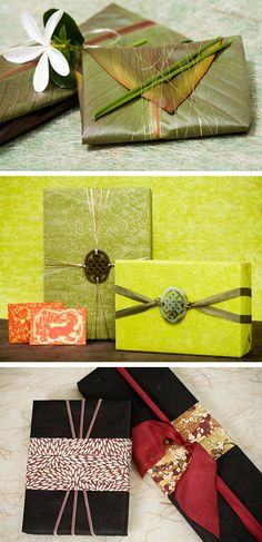 fancy gift wrapping