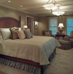 Bedroom Photos Master Bedroom Design, Pictures, Remodel, Decor and Ideas - page 41  - bed covers, lamp