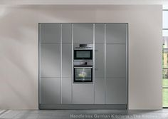 Handleless kitchens in London, Kent and UK. Flush fitting kitchen doors and drawer fronts, The LINE N collection from Nobilia at The Kitchen Link. Nobilia Kitchen, Handleless Kitchen, German Kitchen, Locker Storage, Cabinet, Kitchens, Furniture, Range, London