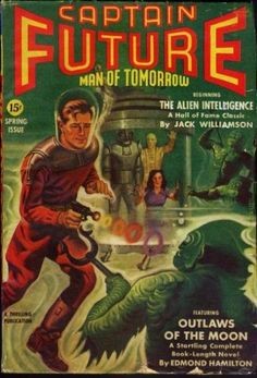 Pulp sci-fi author, Edmond Hamilton, native of Youngstown, Ohio.