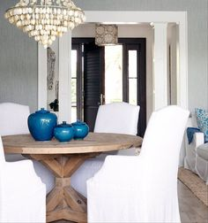 Love the table for our dining room.