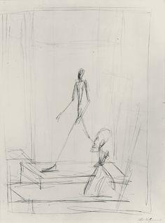 Sculptures, 1950, Alberto Giacometti