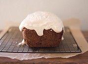 Carrot + apple loaf cake