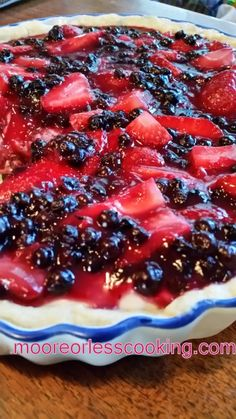 NO BAKE BERRY CREAM