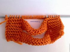 MY KNITTED PROJECT 2014                                                          HERE IS A PAP OF HOW TO DO THIS BEAUTIFUL KNITTED HEADBAND...