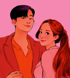 what's wrong with secretary kim Korean Drama Movies, Korean Actors, Korean Drama Quotes, Cute Couple Art, Cute Couples, Anime Couples, Two Worlds, Weightlifting Fairy Kim Bok Joo, Park Min Young