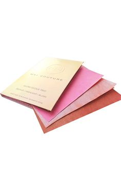 Mai Couture 'Glow-Geous' Trio - blotting papers that are blush, bronzer, and highlighter too! What? Going out genius. $24