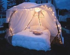 diy fort of romance in your own backyard. Please and thank you?
