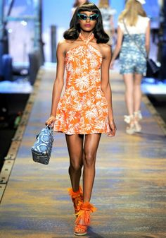 fashion, retro style, 50s style, 40s style, orange, shoes