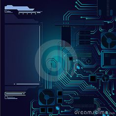 Abstract hi-tech hardware background