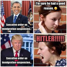 Funny how liberals respond when a conservative gives a order. Laughing at LIBS, for their special kinda stupid. Liberal Hypocrisy, Liberal Logic, Stupid Liberals, Political Memes, Political Views, Political Ideology, Truth Hurts, It Hurts, Double Standards