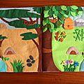 Cette page a pour but de retrouver l'habitat naturel des animaux sauvage. La page de droite est pour les animaux que nous connaissons (sauf...