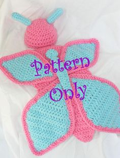 PATTERN!! Crochet Baby Butterfly Cape and Hat for Newborn Baby Girl Photo Shoot Prop - PDF Instant Download