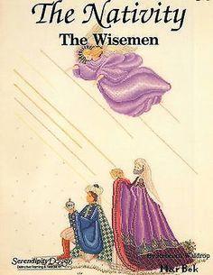Serendipity Designs ~MarBek~ THE WISEMEN ~from The Nativity Series~ XS Leaflet in Crafts,Needlecrafts & Yarn,Cross Stitch & Hardanger   eBay