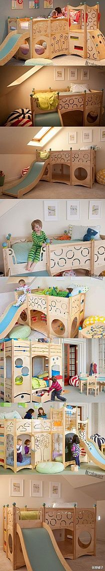 Trendy Ideas For Cool Kids Room Ideas House Girl Room, Girls Bedroom, Bedroom Ideas, Bed Ideas, Cool Kids Rooms, Awesome Bedrooms, Kid Spaces, Kid Beds, My New Room