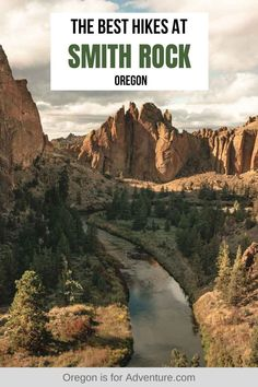 There are some awesome hikes at Smith Rock State Park but the Misery Ridge Trail is one of the best. Info on hiking, rock climbing and more HERE. Pacific Crest Trail, Pacific Coast, Pacific Northwest, West Coast, Oregon Travel, Travel Usa, Smith Rock Oregon, Hiking Photography, Central Oregon