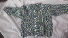 MelinetDecorCrochet / Háčkovaný sveter
