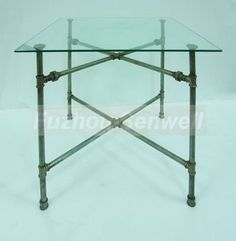 Glass table-top