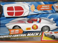 I SOLD IT ON EBAY: Did you see the movie Speed Racer? Check out this Speed Racer Hot Wheels Remote Control Mach 5 Car! http://www.ebay.com/itm/Hot-Wheels-Speed-Racer-RC-Remote-Control-Mach-5-Car-Toy-NIB-Box-Damaged-/300910634530?pt=TV_Movie_Character_Toys_US=item460fabe622 #speedracer #hotwheels