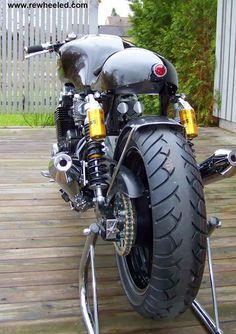 MotoGp: Honda CB 750 Seven Fifty Cafè Racer by Re-Cycles Bikes Rewheeled AB