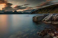 Sunset, Dusk, Last Light, Lake, Coast