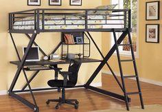 Двухярусные кровати с рабочим местом - 1