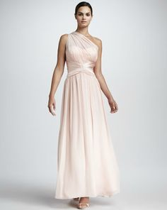 Aidan Mattox - bridesmaid dresses, beige or black