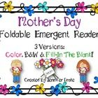 Are you looking for a simple early emergent reader for your students to read about Mom?  Would you like that book to come in color (for shared/guid...