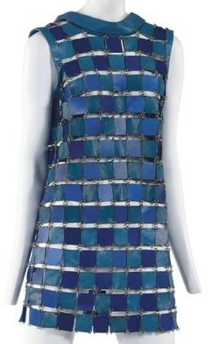 Dress Paco Rabanne, 1967 Christie's