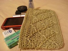 Clutch Crochet PATTE