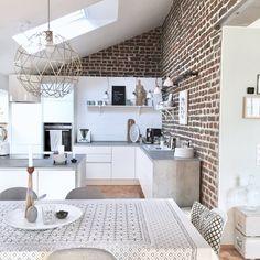Küchenupdate | SoLebIch.de Foto: Madame_Gruenspecht #solebich #küche #ideen #streichen #wandgestaltung #skandinavisch #ordnung #offene #einrichtung #gestalten #arbeitsplatte #dekoration #renovieren #insel #kitchen #interior #interiorideas