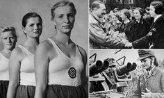 The girls as young as 10 who fought for Hitler — Daily Mail German Women, German Girls, Raza Aria, Nuremberg Rally, Military Cemetery, Innocent Girl, The Third Reich, Female Soldier, Portraits