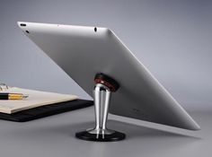 Docking and redocking your tablets on desks, countertops, tables or even your nightstands is going to be super easy if you use the Steelie Pedestal for iPad.
