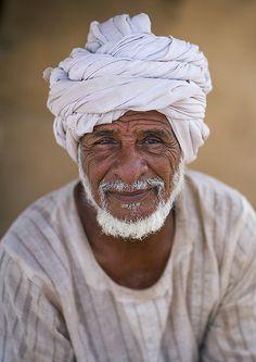 Rashaida Tribe Old Man, Massawa, Eritrea