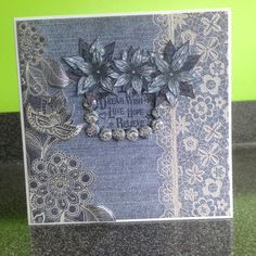 Craftwork Cards: Chambray & Lace