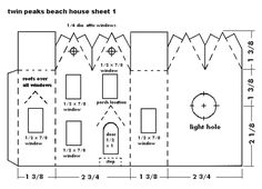 glitter house patterns | build glitterhouses lists many other materials and tools that will ...