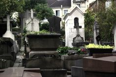 """SIGHTS. Cimetière St-vincent. Because of the artists and writers who have their resting places in the modest burial ground of St-Vincent, with a view of Sacr-Coeur on the hill, it's sometimes called """"the most intellectual cemetery in Paris"""" -- but that epithet seems more"""