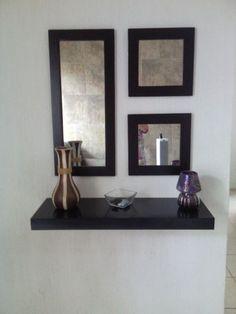 espejos decorados ideas hogar repisas entrada recibo cubos comedor bricolaje