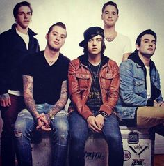 Sleeping with sirens. I love them so much<3