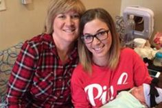 Woman Gives Birth To Her Own Granddaughter After Being A Surrogate For Her Daughter | Hot Moms Club