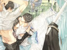 Yaoi ~~ What happens in the nurse's office at the all boys' school? by Ayumi KASAI