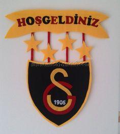 Keçe Galatasaray Kapı Süsü 4 Yıldız