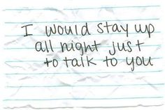 Lets try it sometime when we are talking like more than friends again <3