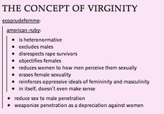 Lose virginity definition