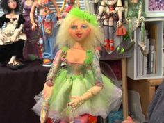 Cloth Doll Inspirations • Patti Medaris Culea [DVD]- In Cloth Doll Inspirations, Patti Medaris Culea provides a variety of creative ideas for cloth doll makers. Working the same doll body three different ways (see cover photo - left), she takes inspiration from old fabrics and lace, popular doll-making themes and childhood dreams.