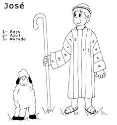 Dibujos para colorear de jose el soñador - Imagui