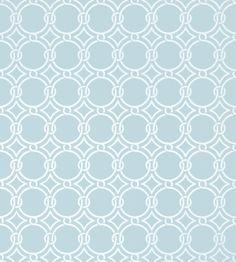 Gilon - Blue wallpaper | Geometric Resource 2 | Thibaut