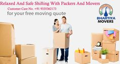 "#Bhartiya #Movers have established as a renowned company for offering high value shifting solutions with ""Customer First"" our 	 11/333 Opposite Mini Stadium, Vikas Nagar, Lucknow- 226022 Uttar Pardesh, India. +91 9335362173 sales@bhartiyamovers.com"